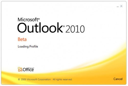 Почтовая программа Outlook 2010